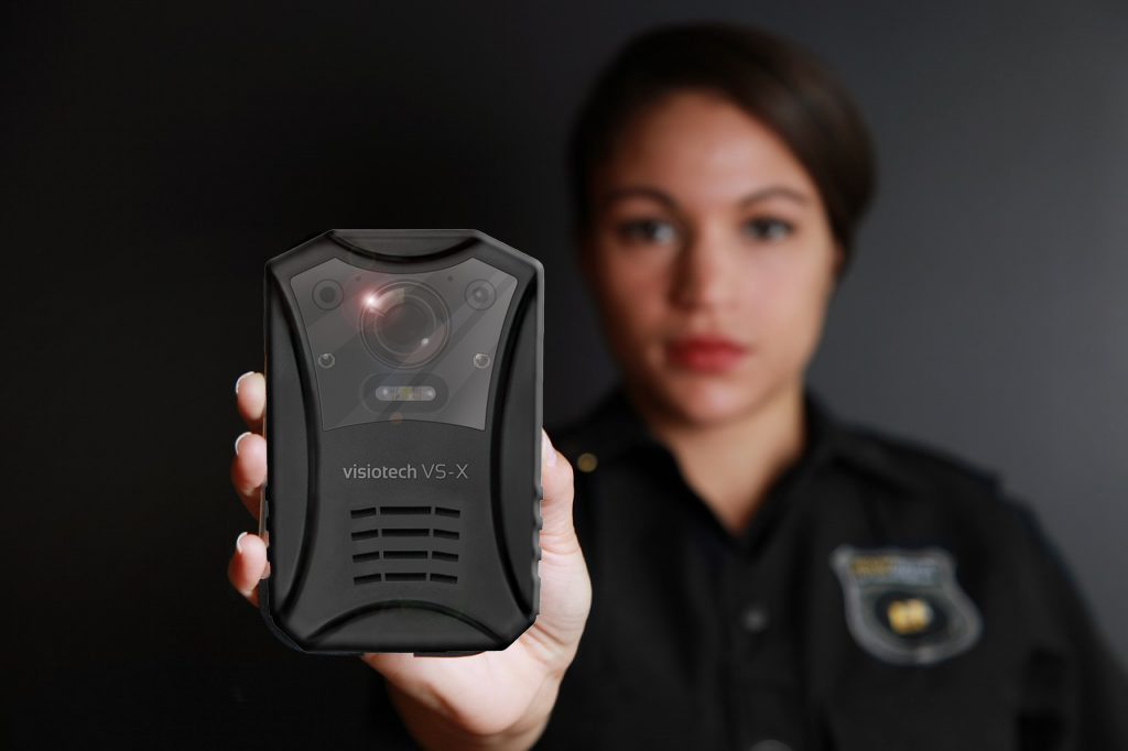 Visiotech Body Worn Cameras BWC for security guards